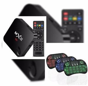 MX3 Android Loaded with KODI+Keyboard