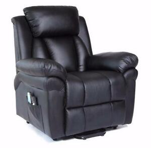 NEW POWER RECLINER MASSAGE CHAIR HEAT & SWIVEL ROCKING WAREHOUSE BLOW OUT PRICING