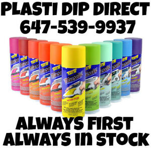 EXCLUSIVE to Plasti Dip Direct - 11 NEW COLOURS available NOW!