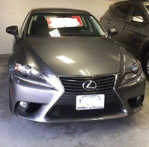 MINT CONDITION 2014 LEXUS IS250 AWD - LADY DRIVEN, LOW KMS!
