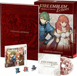 New Fire Emblem Echoes Shadows of Valentia Limited Edition 3DS