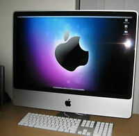 "Apple iMac 24"" en Condition NEW / A-1 & Microsoft OFFICE for MAC"