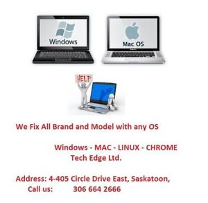 Get fix any Laptop Mac & PC +Professional Guaranteed services+
