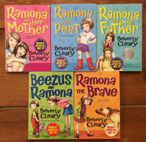 Brand new RAMONA books by BEVERLY CLEARLY 5 for $15