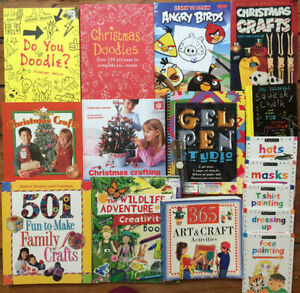 Great CRAFT BOOKS for Kids! 16 books for $20