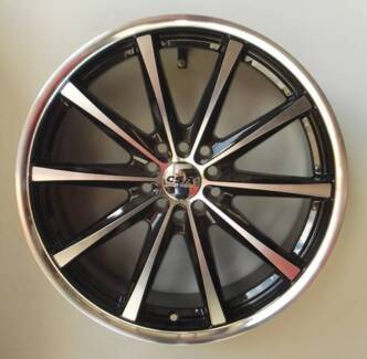 "18"" CSA Savanna Alloy Wheels to suit most 5 stud Medium cars Toowoomba 4350 Toowoomba City Preview"