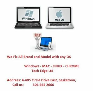 FIX all kind of Laptop Mac&PC+Professional Guaranteed services+