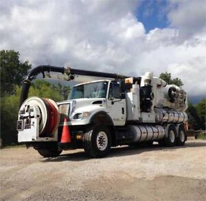 Vactor 2115 PD (15-Yard) Sewer Cleaner w/ Boiler and HXX