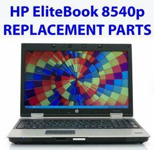 All parts for HP EliteBook 8540P / 8540W Business Laptop