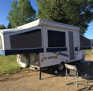 2010 Jayco Tent Trailer; hot water & outside storage PRICE DROP!