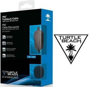 NEW TURTLE BEACH PS4 TALKBACK CABLE 1.1M 106067847