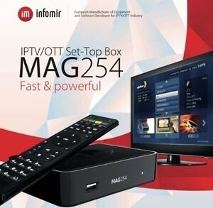 how to add iptv channels to mag 254