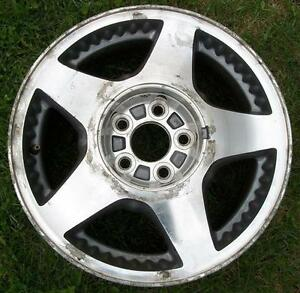"""5 Aluminum 16"""" Ford Windstar Rims with 4 Center Caps"""