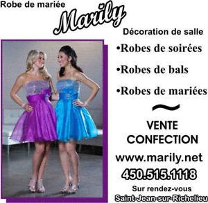 Robes de demoiselle d'honneur et robes de mères Saint-Hyacinthe Québec image 1