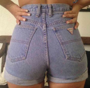 GUESS Jeans High Waist Women's Shorts