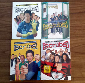 Scrubs: Season 2, 3, 4 and 5 on DVD - Brand New & Factory Sealed