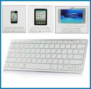 Bluetooth Wireless Keyboard for Apple iPad PC Macbook Clavier