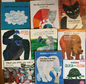 ERIC CARLE picture books $4 each or all 9 for $25