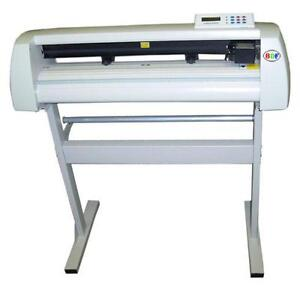"""New 24"""" vinyl cutter+stand,commercial software,1yr warranty"""