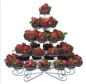 Cup Cake Stand Display New Food Display .*RESTAURANT EQUIPMENT PARTS SMALLWARES HOODS AND MORE*