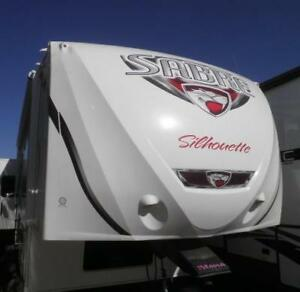 2014 SABRE SILHOUETTE 311 RETS FIFTH WHEEL