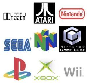 Looking for / Recherche Jeux SEGA NINTENDO PLAYSTATION Games & +