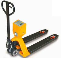 New Hand Pallet Truck with Scale $799.99! Call 780.666.3232
