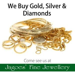 Can't sell your jewellery on Kijiji? Come see us, we pay cash! Gold & Silver Also!