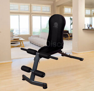 Marcy Folding Adjustable Weight Bench/Ab Bench