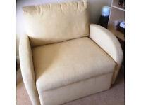 'Roma', 80cm wide, single sofa bed