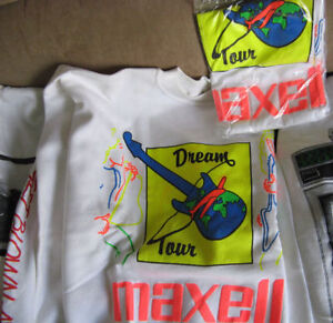 MAXELL TAPE AUDIO COLLECTORS SHIRTS Kitchener / Waterloo Kitchener Area image 2