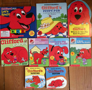 CLIFFORD Board Books - $3 each or all 9 for $15