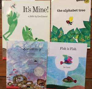 Picture Books by LEO LIONNI - $3 each or all 4 for $10