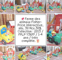FERME Fisher-Price - des ANIMAUX - Gros camion - 30 MCX - 30$ Laval / North Shore Greater Montréal Preview