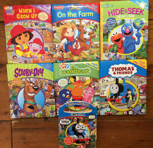 LOOK AND FIND BOARD BOOKS $4 each or all 7 for $20