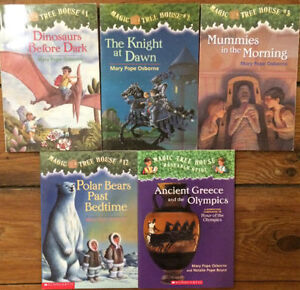 MAGIC TREE HOUSE BOOKS 5 for $10