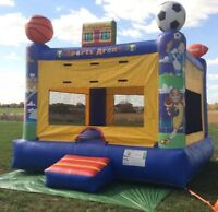 GREAT BACKYARD PARTY ADDER!! BOUNCY CASTLE!! BOOK TODAY