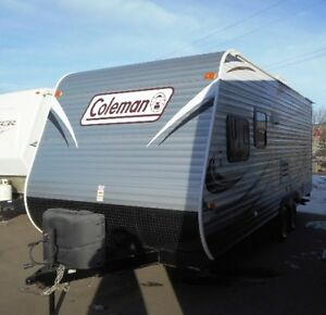 2014 COLEMAN TRAVEL TRAILER - BUNKS