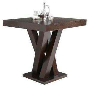 Counter Height Table in Espresso Finish  (Brand new in Box)