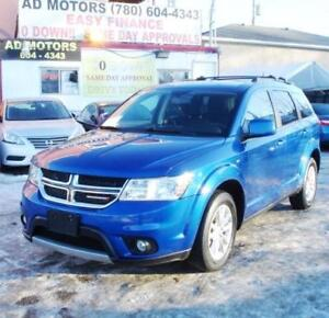 2015 DODGE JOURNEY SXT 3.6L V6 NAVi DVD SUNROOF 7 PASSENGER!!