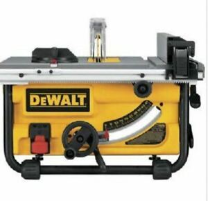 DEWALT DWE7480 10-Inch Compact Job Site Table Saw with Site-Pro