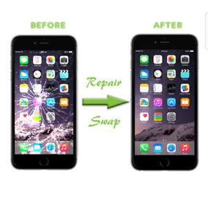 iphone screens fix, iphone 6 screen = $60
