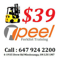 Forklift License / Training from $39 be a Forklift Driver