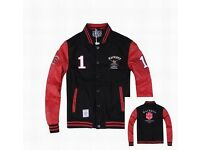 Hackett London Limited Edition Army Polo Team No.1 Jacket Black & Red