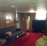 CLEAN FURNISHED BACHELOR BASEMENT APARTMENT AVAILABLE -------NOW