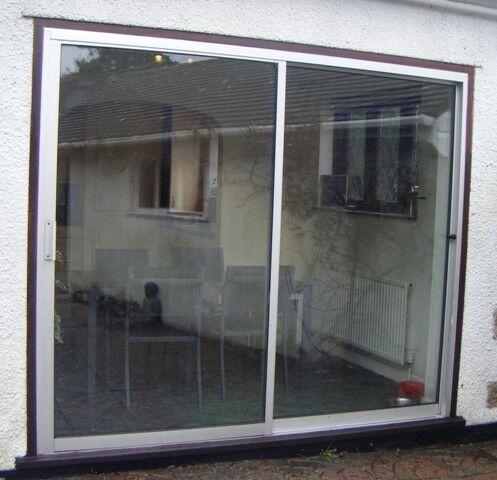 External Aluminium Sliding Patio Doors Double Glazed 24m Wide X
