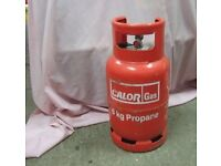 WANTED 6 kg Propane gas bottle for caravan
