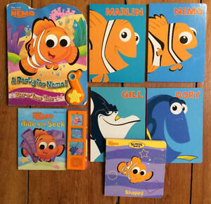 FINDING NEMO board books $3 each or all 7 for $15