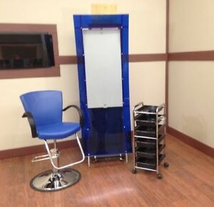 Salon furniture, barber styling chairs, pipeless pedicure spas