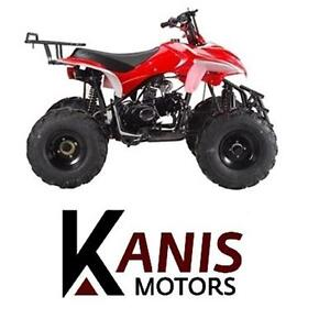 Large 125cc Semi Auto ATV on for $749.99! Save now!